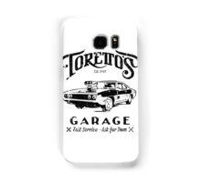 Torettos Garage Samsung Galaxy Case/Skin