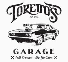 Torettos Garage Kids Tee