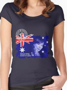 Australia - Eurovision 2016 Women's Fitted Scoop T-Shirt