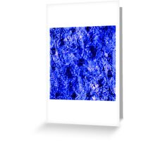 Crystallized Greeting Card
