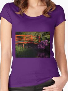 Japanese Gardens Women's Fitted Scoop T-Shirt