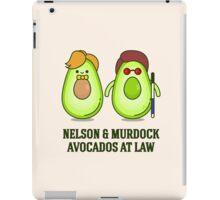 Avocados at law iPad Case/Skin