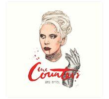 The Countess Ams Motel Art Print