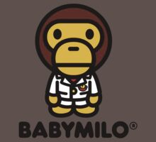 Baby Milo a Bathing Ape One Piece - Short Sleeve