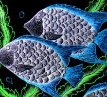 Silver Fish Fanyasy Sticker