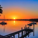 Shoalhaven sunrise  by Leigh Monk