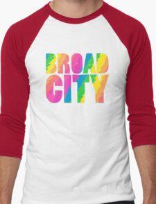 BROADCITY Men's Baseball ¾ T-Shirt