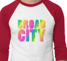 BROADCITY Men's Baseball ¾ T-Shirt