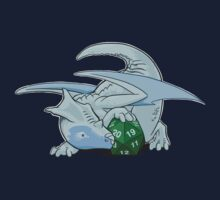 D20 White Dragon Kids Tee