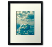 Magical Storm Clouds Framed Print