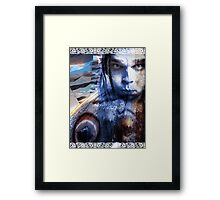king of the wind Framed Print