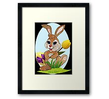 Easter Bunny  (3520 Views) Framed Print