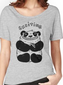 Exciting Panda Women's Relaxed Fit T-Shirt