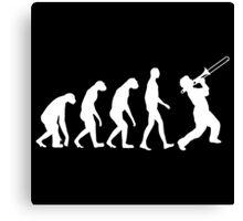 Trombone Evolution Canvas Print