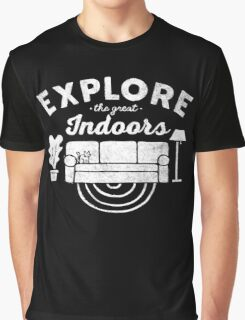 Explore the Great Indoor Graphic T-Shirt