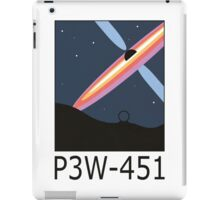 Stargate SG1 - Retro Travel Poster (P3W-451 Blackhole) iPad Case/Skin