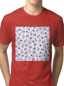 Floral pattern Tri-blend T-Shirt