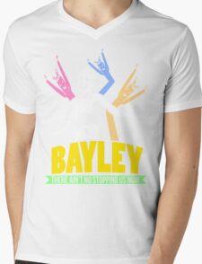 Bayley - Color Mens V-Neck T-Shirt