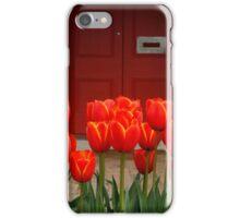Tulips at My Door iPhone Case/Skin