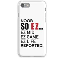 EZ GAME iPhone Case/Skin