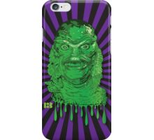 Creature from the Black Lagoon Drip Art iPhone Case/Skin