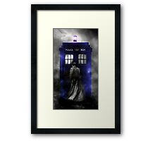 Police Public Call Box  Framed Print