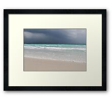 A Fine Day for a Storm Framed Print