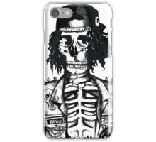 BORING SKULL iPhone Case/Skin