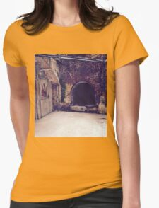 Old building Alcatraz Womens Fitted T-Shirt