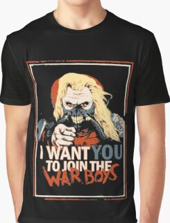 Mad Max join the War Boys Graphic T-Shirt
