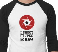 I Shoot? - Photography Men's Baseball ¾ T-Shirt