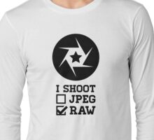 I Shoot? - Photography Long Sleeve T-Shirt