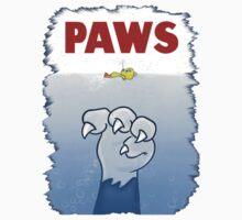 Paws Cat Parody One Piece - Short Sleeve
