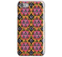Abstract pattern ornament modern geometric stylish simple background iPhone Case/Skin