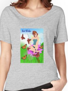 Spread your wings & Prepare to fly .....(1989 Views) Women's Relaxed Fit T-Shirt
