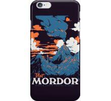 Visit Mordor iPhone Case/Skin