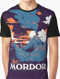 Visit Mordor Graphic T-Shirt