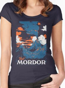 Visit Mordor Women's Fitted Scoop T-Shirt