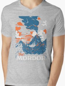 Visit Mordor Mens V-Neck T-Shirt