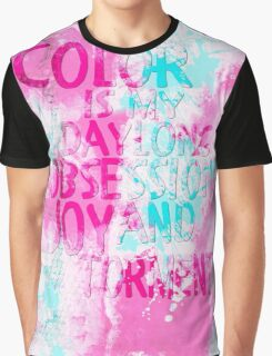 Color Obsession Graphic T-Shirt