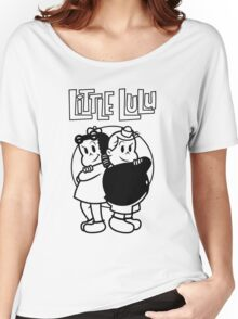 Little Lulu Funny Tshirt Women's Relaxed Fit T-Shirt