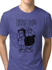 Little Lulu Funny Tshirt Tri-blend T-Shirt