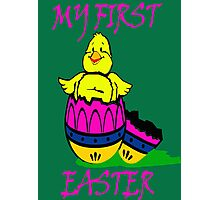 My first EASTER- EASTER'S DAY Photographic Print