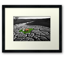 It is what it is. Framed Print