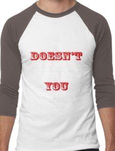 IT DOESN'T MATTER WHAT YOU THINK Men's Baseball ¾ T-Shirt