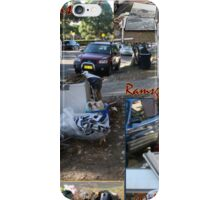 Annual Clean-up stirs emotions - memories.  iPhone Case/Skin