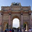 Arc de triomphe du Carrousel by Steven Guy