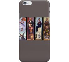 Haunted mansion all character iPhone Case/Skin