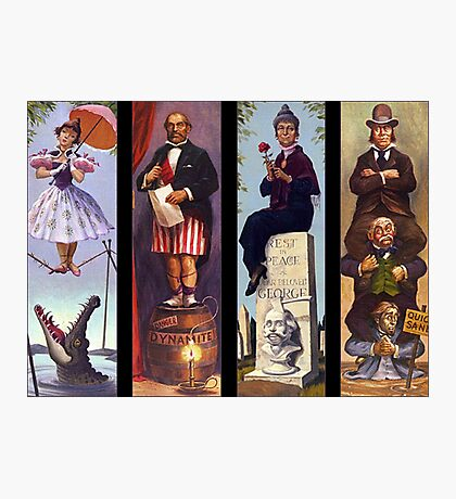 Haunted mansion all character Photographic Print