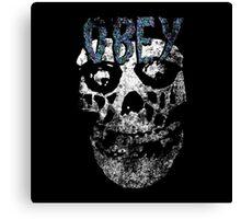 Obey you misfit! Canvas Print